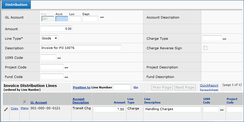 Matching Purchase Order Receipts with Invoices on