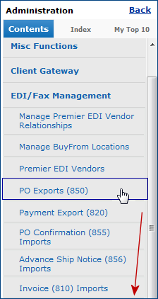 Set Up And Maintain EDI Vendor Relationships - Edi invoice format